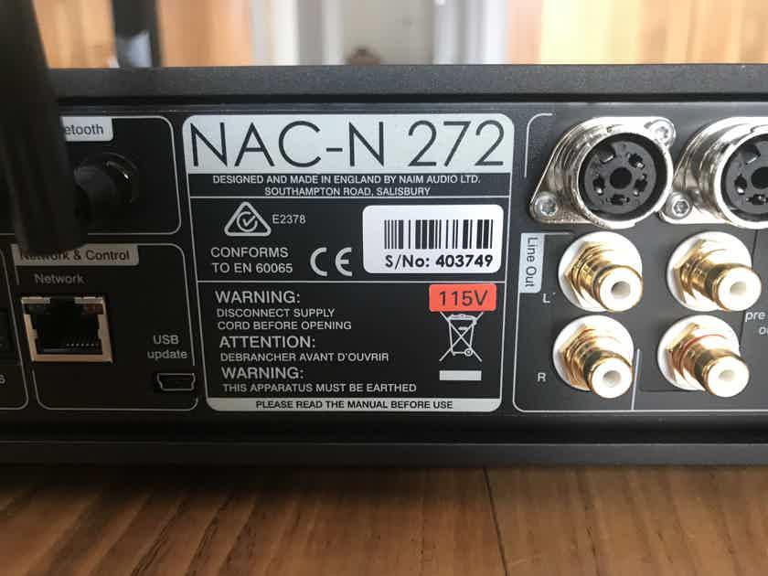 Naim Audio NAC-272 digital streamer