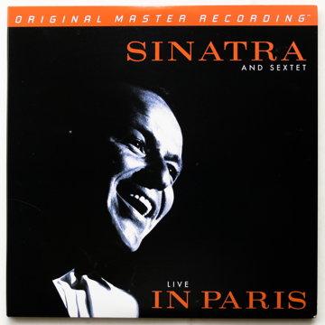 MFSL Frank Sinatra Live In Paris Promo
