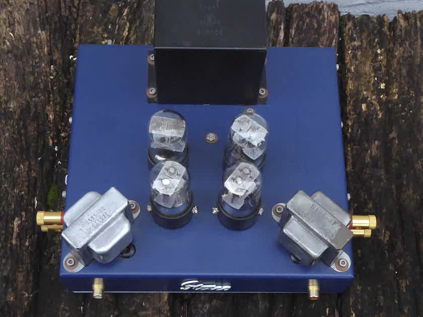 Jeremy Fix custom build 6SN7 tube amplifier - small, unique and nice SET