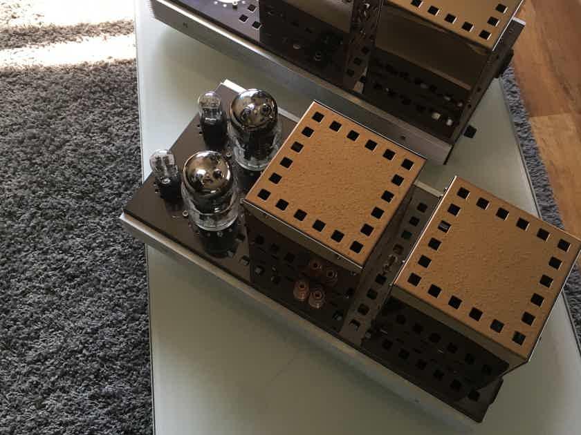 Audio Mirror  45w SET Audio Mirror 45 W single ended SET mono blocks