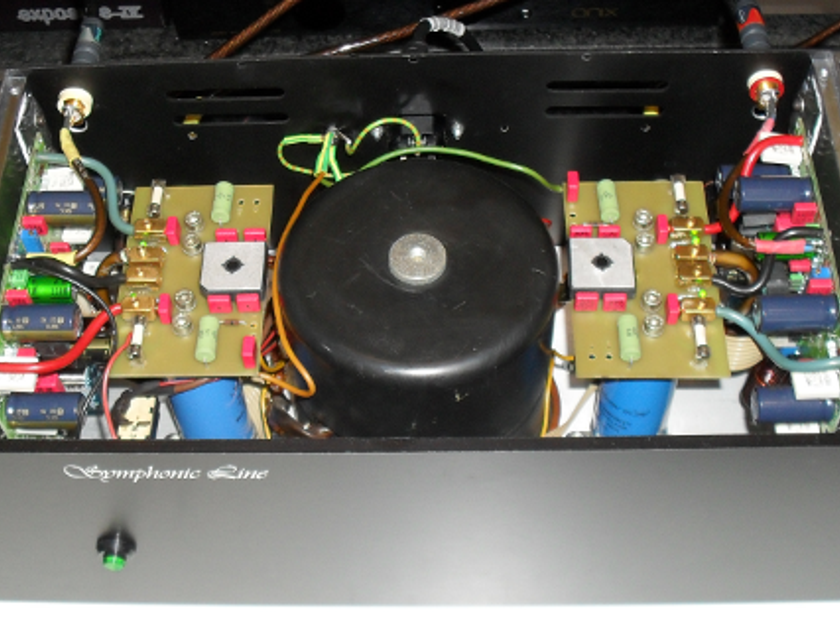Symphonic Line RG-1 Power Amplifier Fully Restored
