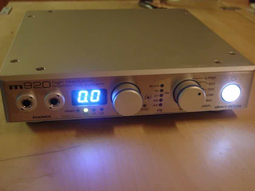 Grace Design m920 dac/preamp -- PRICE DROP !