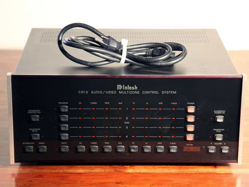 McIntosh Whole Home Audio CR-12 CR12 Multizone Control Preamplifier ..................near San Francisco