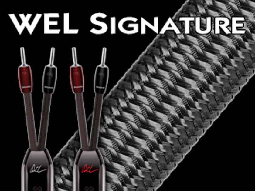 AudioQuest WEL Signature Speaker cable demo 6 ft