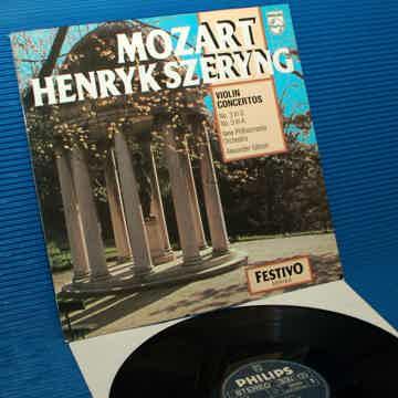 Mozart/Szeryng -  Violin Concertos 1 & 4 - Philips 1970...