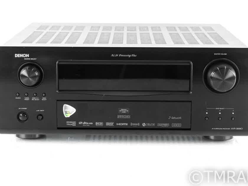 Denon AVR-3808ci 7.1 Channel Home Theater Receiver; MM Phono; Remotes (21993)