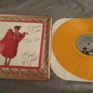 Belinda Carlisle Featuring Freda Payne Yellow Vinyl Band Of Gold