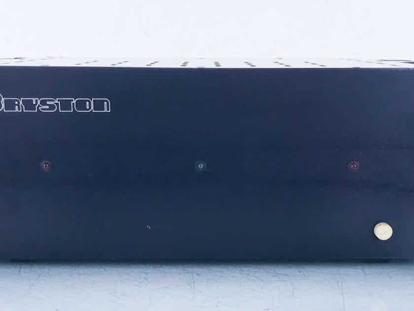 """Bryston 4B Vintage Stereo Power Amplifier 19"""" w/ Rack Ears (15138)"""