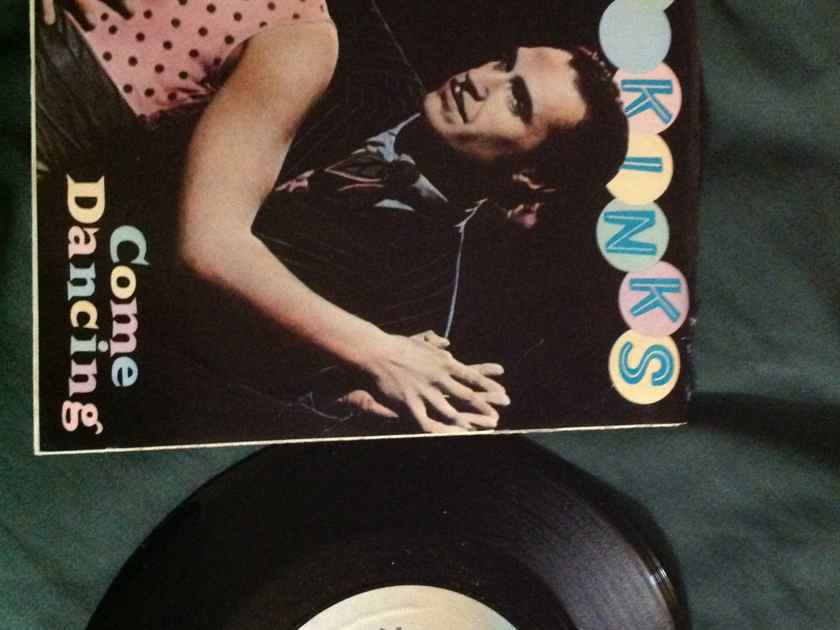 The Kinks - Come Dancin/Noise Arista Records 45 Single With Picture Sleeve Vinyl NM