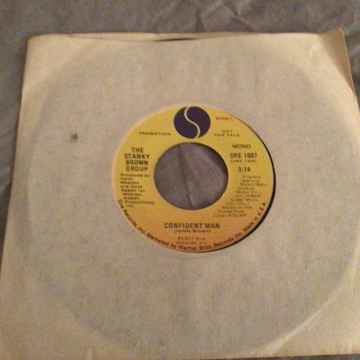 The Stanky Brown Group Promo 45  NM  Confident Man