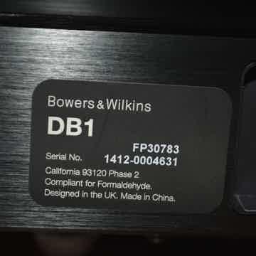 B&W (Bowers & Wilkins) DB1