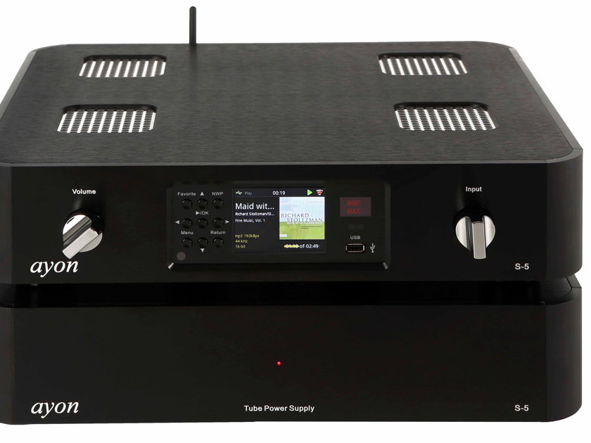 Ayon Audio S-5 Tube Media Server AWARDED PRODUCT OF THE YEAR