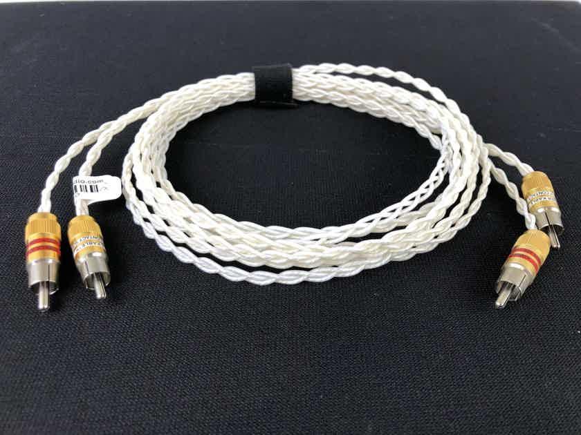 Kimber Kable KCAG Silver Analog Audio Cable, 2 Meters