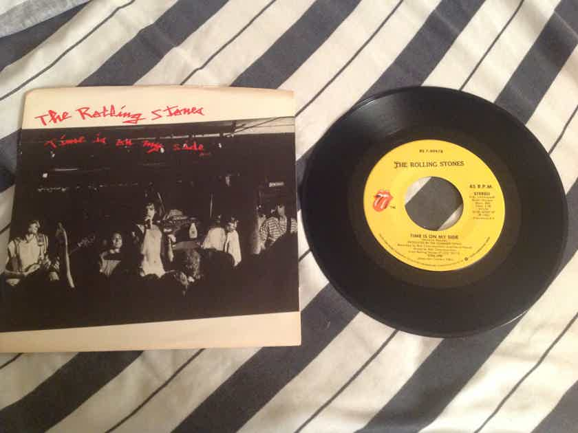 The Rolling Stones  Time Is On My Side/Twenty Flight Rock 45 With Picture Sleeve