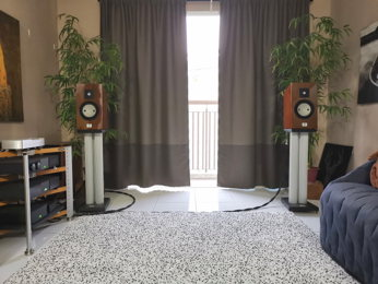 Naim amplification with Harbeth and Marten Loudspeakers