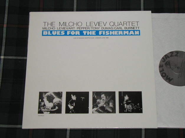 The Milcho Leviev Quartet Feat Art Pepper