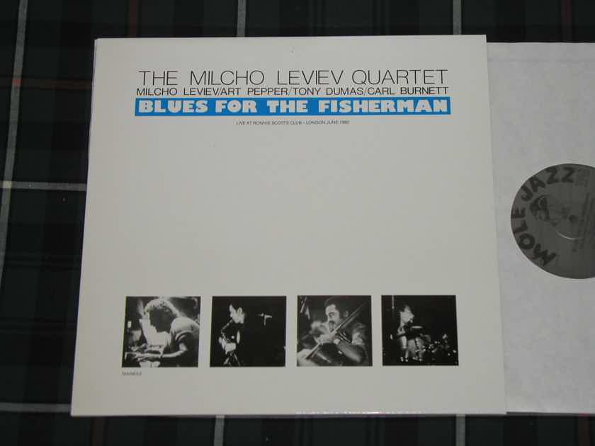 "The Milcho Leviev Quartet Feat Art Pepper - ""Blues For The Fisherman. Import  Mole Jazz. MOLE 1"