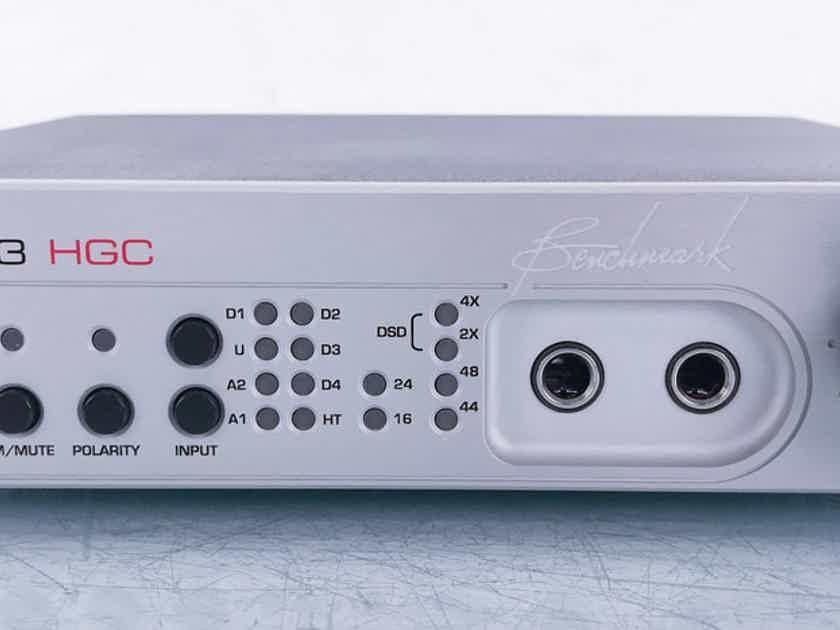 Benchmark DAC3 HGC DAC / Headphone Amplifier Preamplifier; DAC-3 (15504)