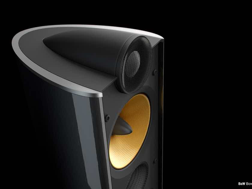 B&W (Bowers & Wilkins) XT-8 Black (Floorstanding Speaker Pair)