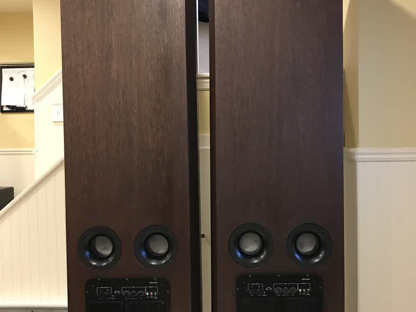Tyler Acoustics PD 90's Speakers With Optional Powered Woofers.