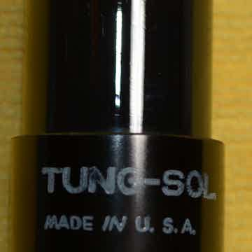Tung-Sol 6SN7GT round plates Tube #2, tests as NOS