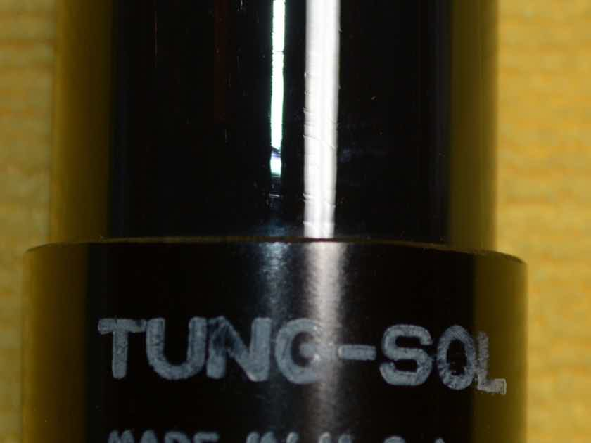 Tung-Sol 6SN7GT round plates Tube #4, tests as NOS