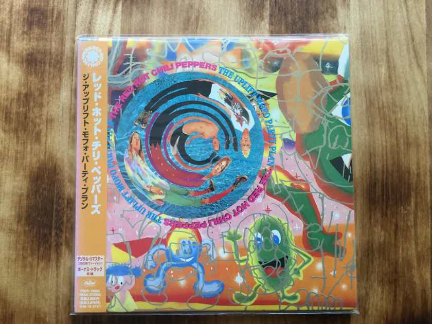 RED HOT CHILI PEPPERS  - THE UPLIFT MOFO PARTY PLAN Japan mini-LP