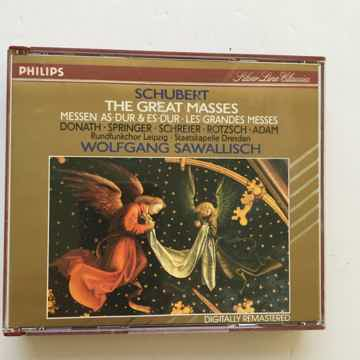 Schubert Wolfgang Sawallisch  The great masses digitall...