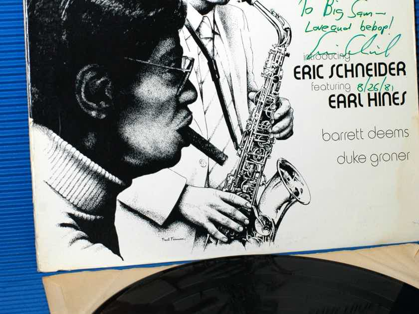 "ERIC SCHNEIDER / EARL HINES  - ""Eric & Earl"" -  Gatemouth 1980 Signed!!"