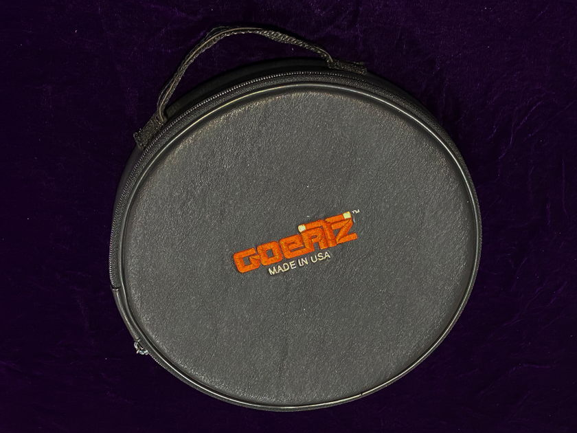 Goertz Alpha Core AG-3 Divinity silver speaker cables 2.5 metre