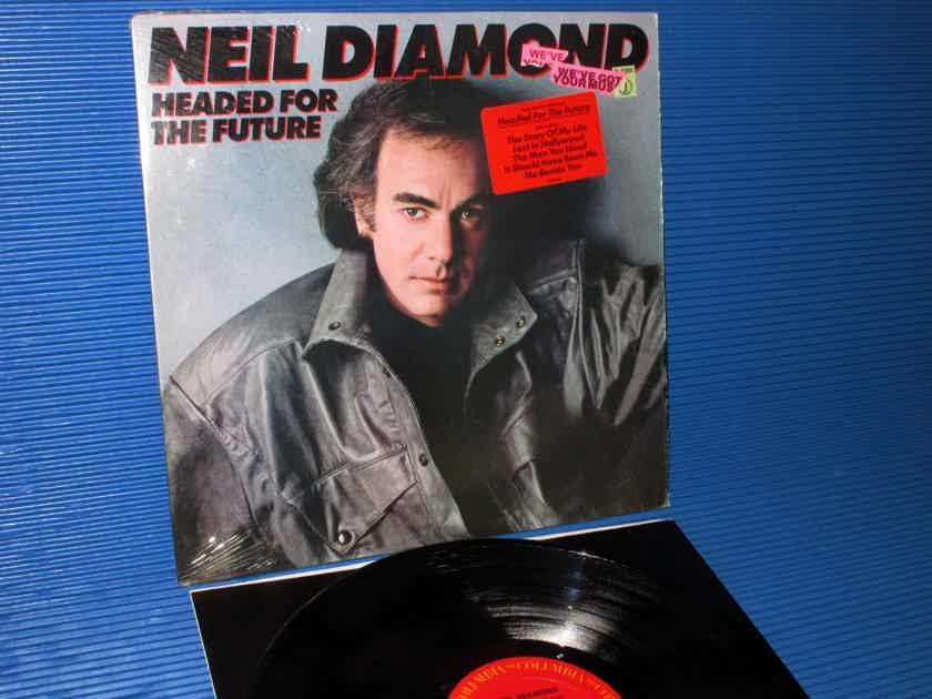 "NEIL DIAMOND  - ""Headed For The Future"" -  Columbia 1986 1st Pressing"