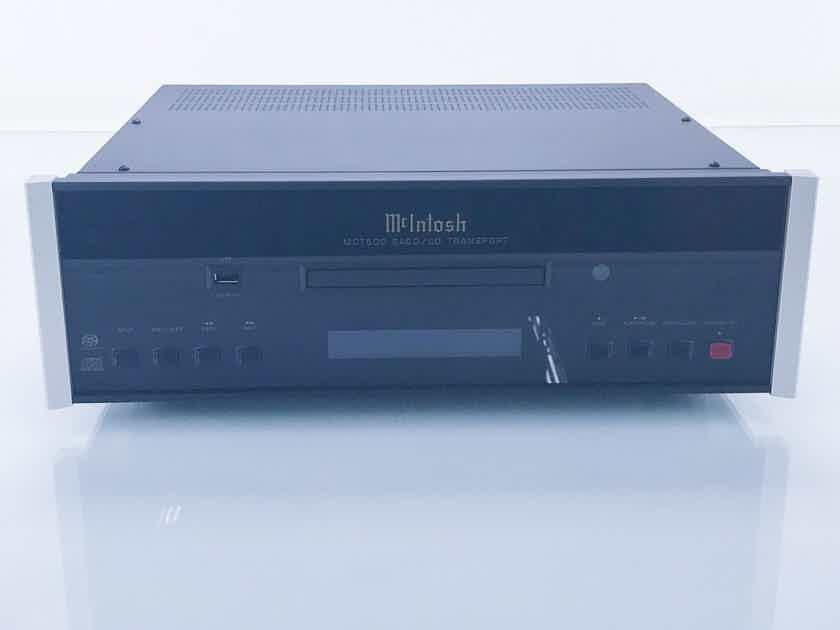McIntosh MCT500 SACD / CD Transport; MCT-500 (17051)