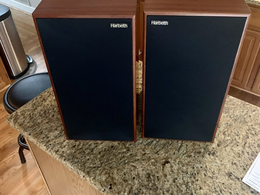 """Harbeth C7es3 """"FREE SHIPPING Credit""""-No Paypal Fee's (optional stands)-Rosewood in Excellent Condition 35th Anniversary  (Luxman, Cary Audio, Conrad Johnson, pass labs)"""