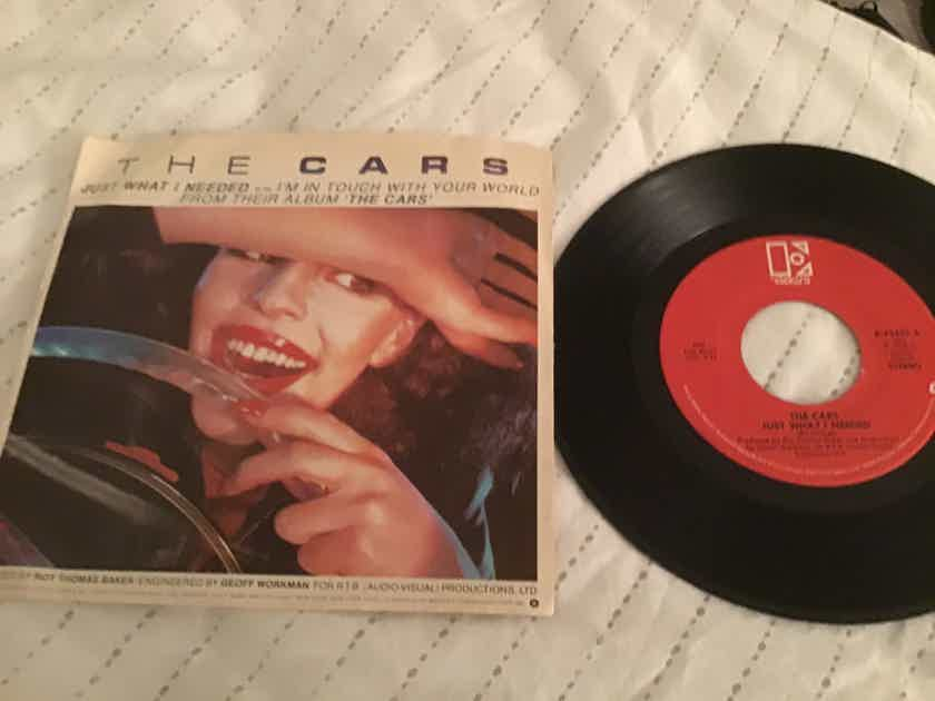 The Cars Just What I Needed 45 With Picture Sleeve Vinyl NM