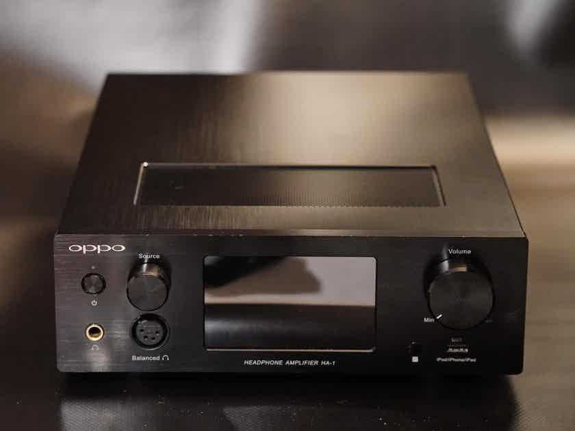 OPPO HA-1  Headphone Amplifier, DAC & Pre-Amplifier
