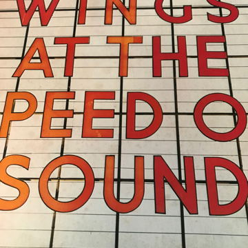 WINGS - AT THE SPEED OF SOUND WINGS - AT THE SPEED OF SOUND
