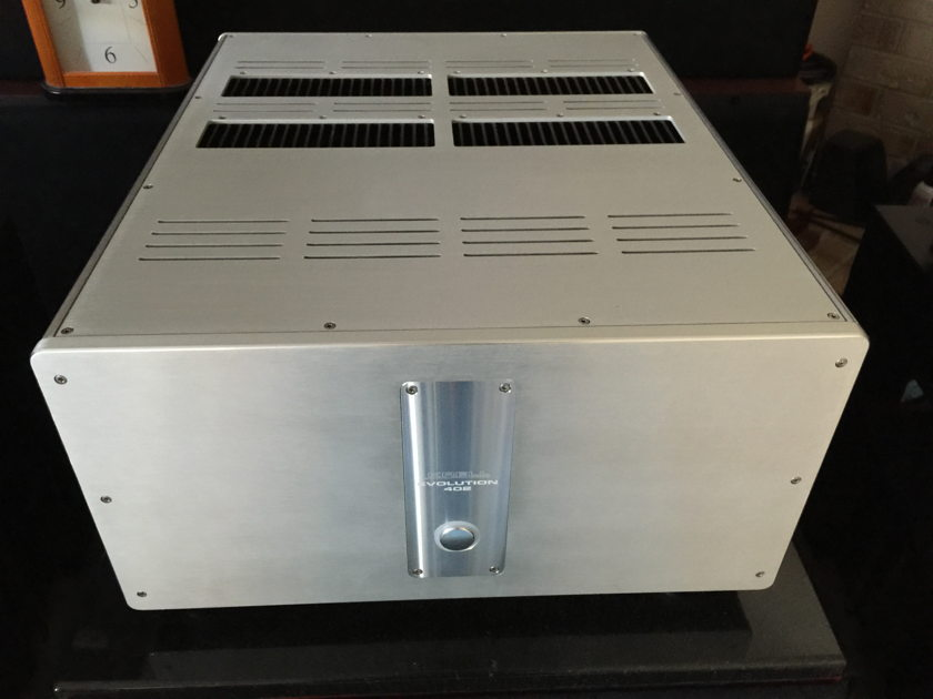 KRELL  EVOLUTION 402 AMPLIFIER MINT CONDITION (free shipping, paypal and insure)