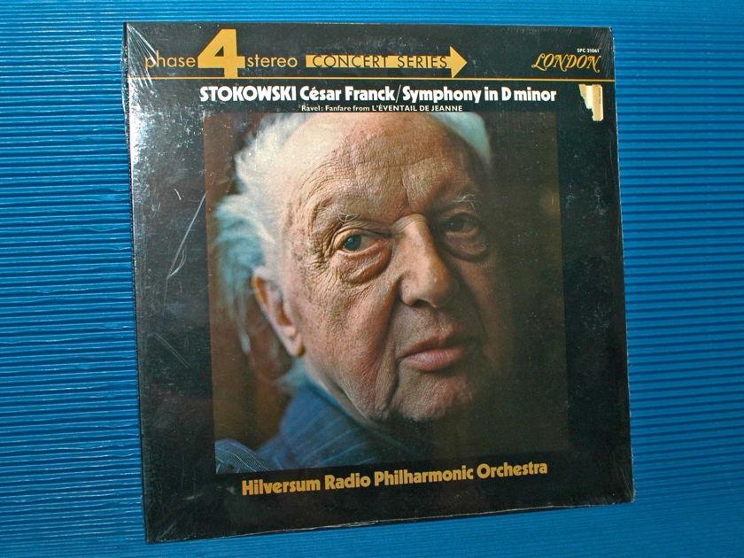 """FRANCK / Stokowski  - """"D minor Symphony"""" - London Phase 4 1971 SEALED"""