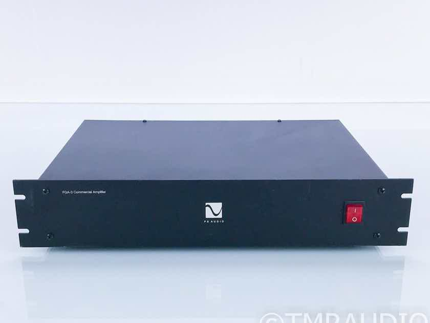 PS Audio FGA-3 Commercial Zone Power Amplifier (16756)