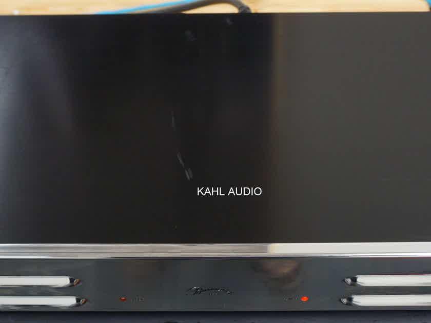 Burmester 933 mkII stereo poweramp. Rare, German high end. $5,700 MSRP