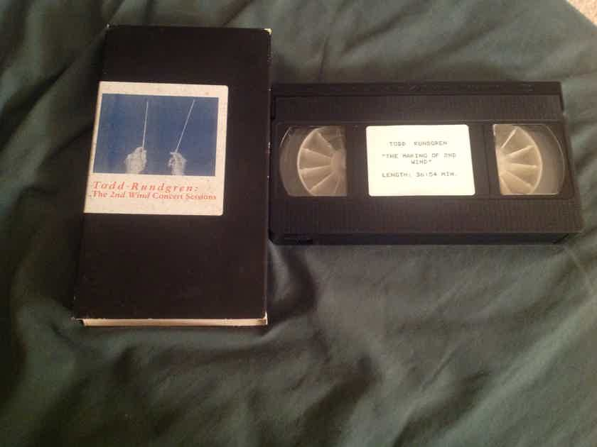Todd Rundgren The Second Wind Concert Sessions Promo VHS