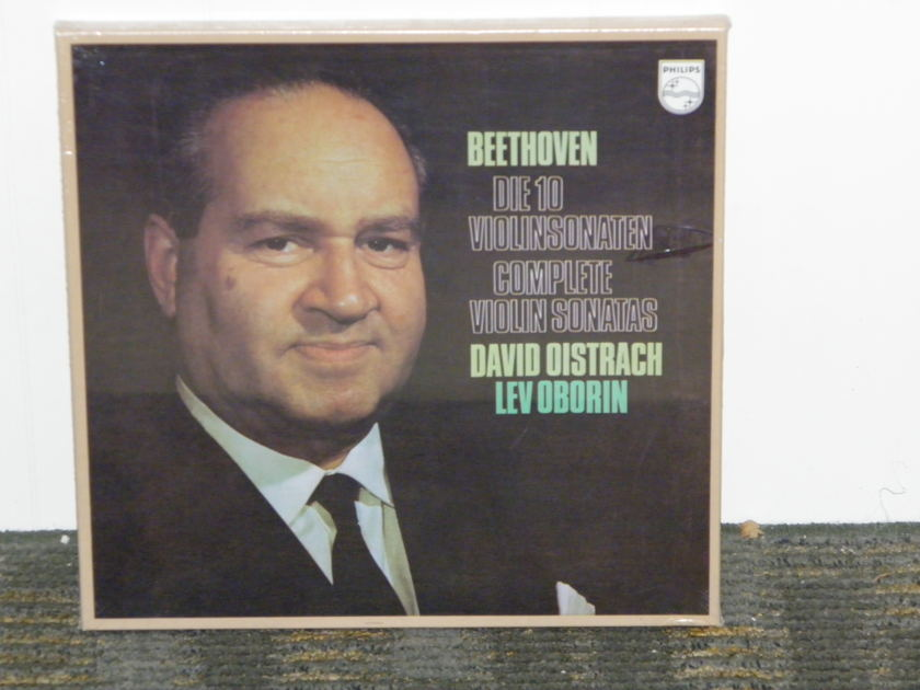 David Oistrakh/Lev Oborin - Beethoven  Complete Violin Sonatas Philips Import (4LP's) Pressing 6768 036 STILL SEALED/NEW