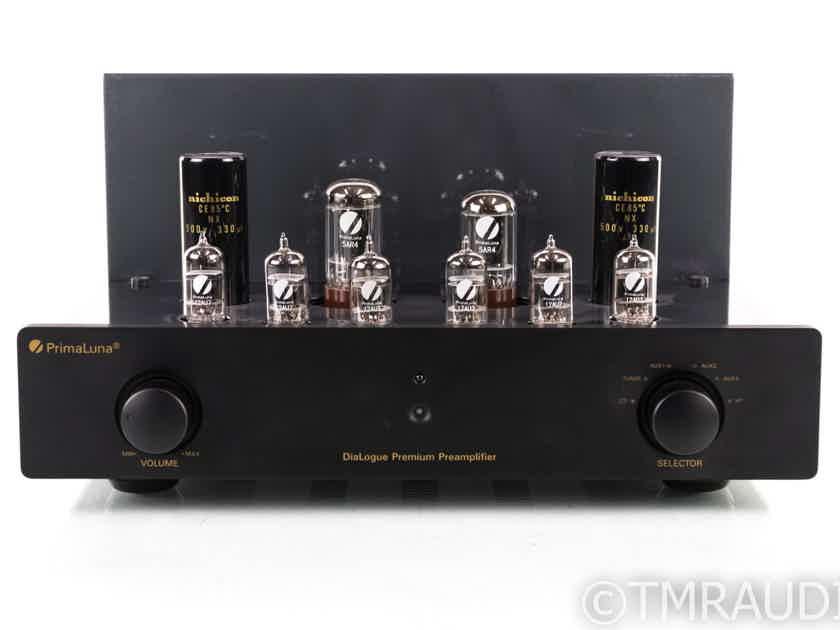 PrimaLuna DiaLogue Premium Stereo Tube Preamplifier; Remote (1/9) (19955)