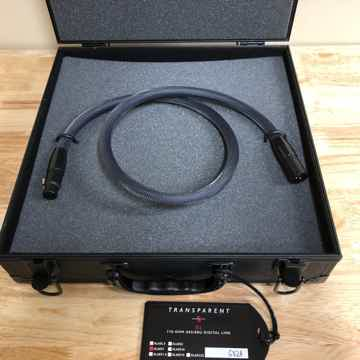 Transparent Audio XL 110 Ohm AES/EBU Digital Link