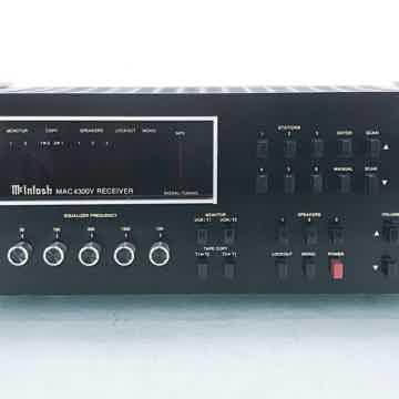 MAC4300V Vintage Stereo Receiver