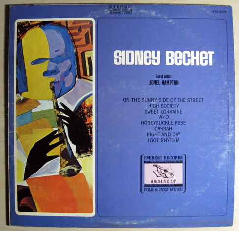Sidney Bechet Guest Artit Lionel Hampton