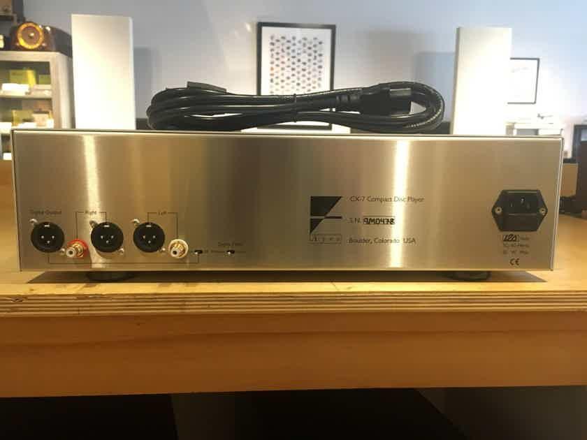 Ayre CX-7 Audiophile CD Player w/ Remote (New Ayre Laser; OG Software)