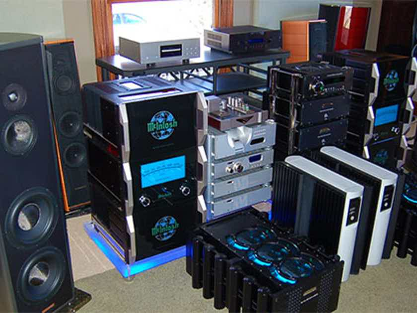 We Pay CASH on used Amps / Speakers  Mcintosh , Krell Marantz Audio Research Wadia Tubes - TRADE INS! Tons in Stock +! Consignment !