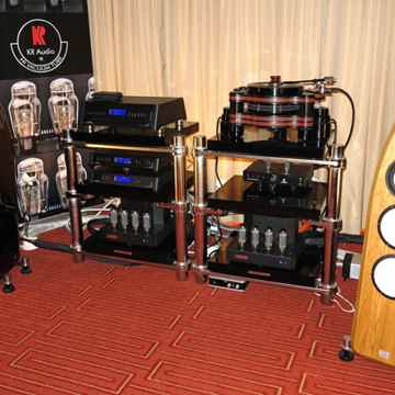 KR Audio VA910 mono blocks at the Newport Beach Show