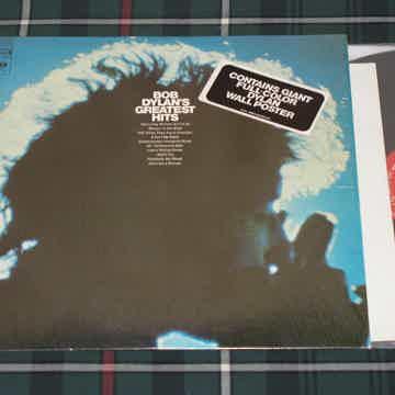"Bob Dylan - ""BOB DYLAN'S GREATEST HITS"" In Shrink w/Sti..."